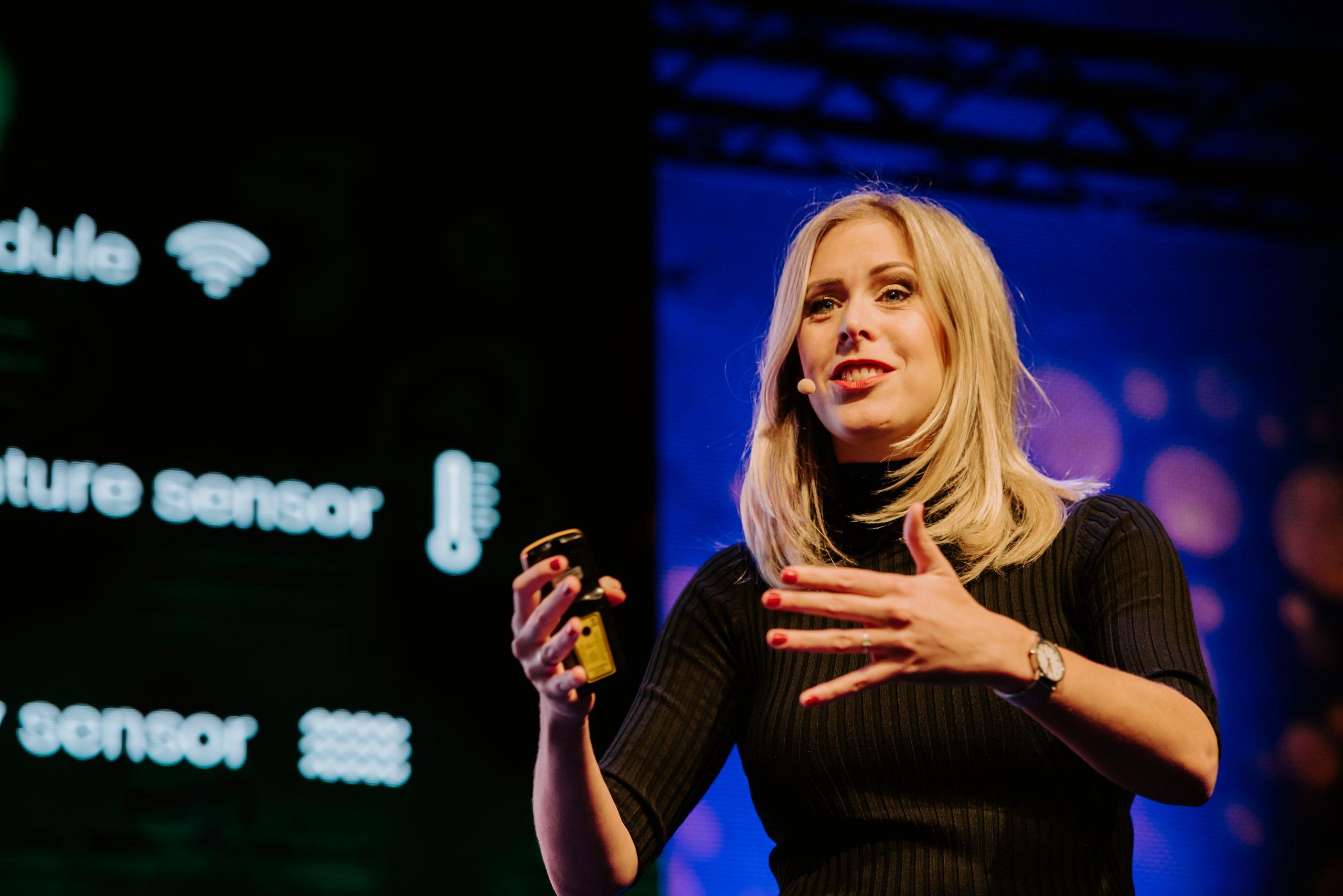Janne Vereijken Global Entrepreneurship Week 2019 'The Future of Entrepreneurship' / De toekomst van ondernemern