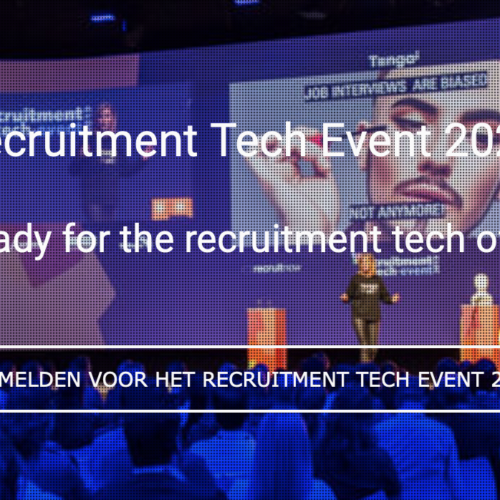 Janne Vereijken keynote speaker Recruitment Tech Event